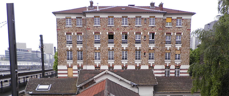 MOE désamiantage démolition hôpital Salpêtrière