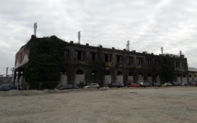 Démolition Bâtiment Industriel Site Ferroviaire Amédée Saint Germain