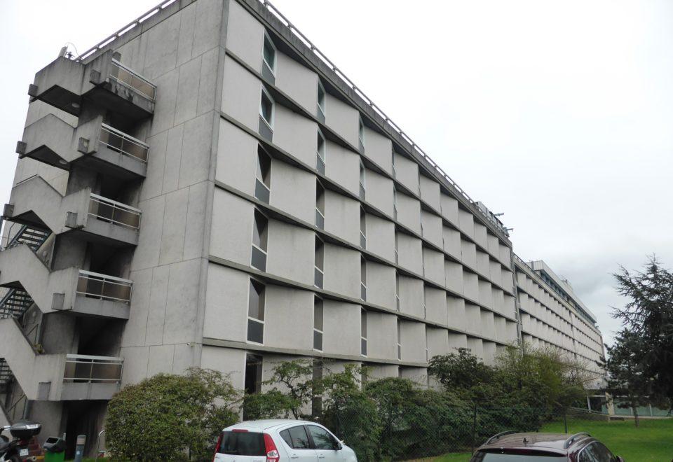 Déconstruction et désamiantage de l'hôtel HILTON