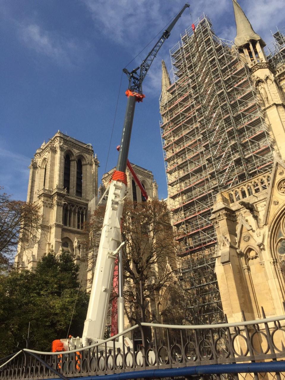Chantier Notre Dame de Paris